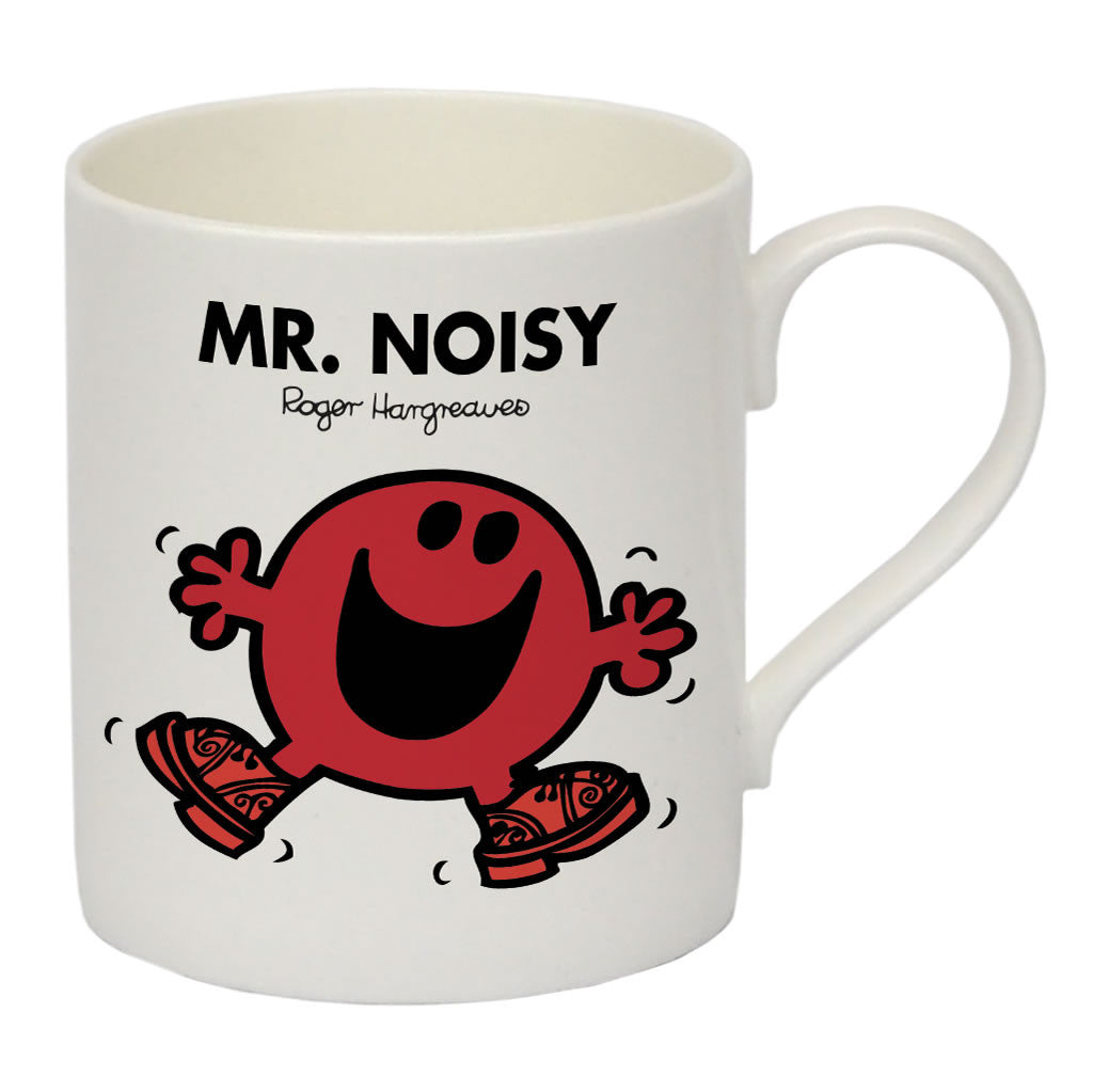 Mr. Noisy Bone China Mug