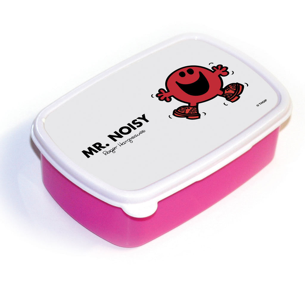 Mr. Noisy Lunchbox (Pink)