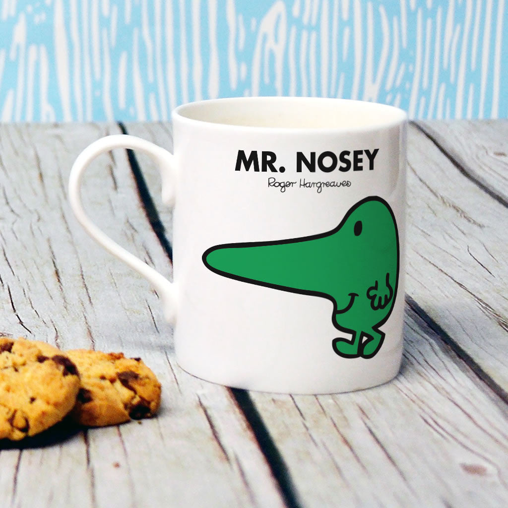 Mr. Nosey Bone China Mug (Lifestyle)