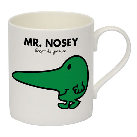 Mr. Nosey Bone China Mug