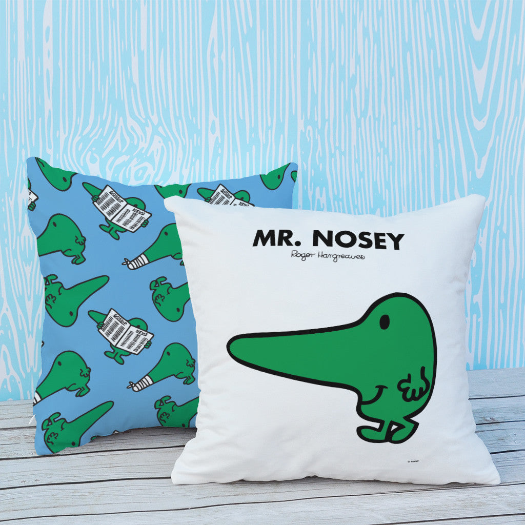 Mr. Nosey Micro Fibre Cushion (Lifestyle)
