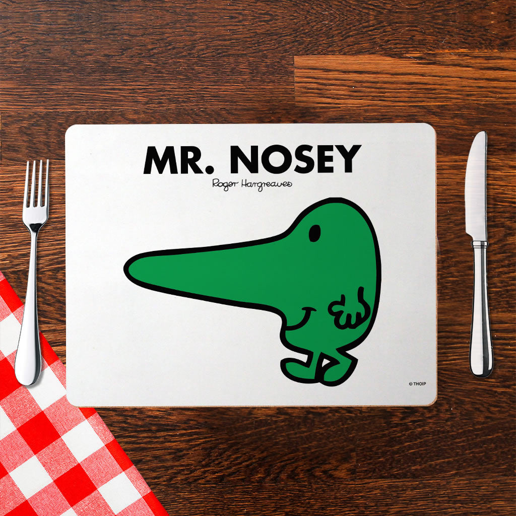 Mr. Nosey Cork Placemat (Lifestyle)