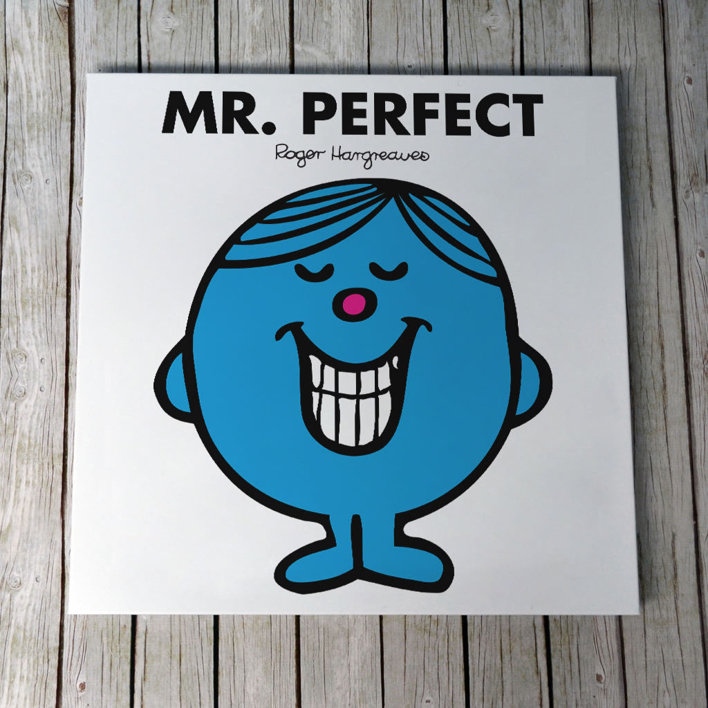 Mr. Perfect Canvas (Lifestyle)
