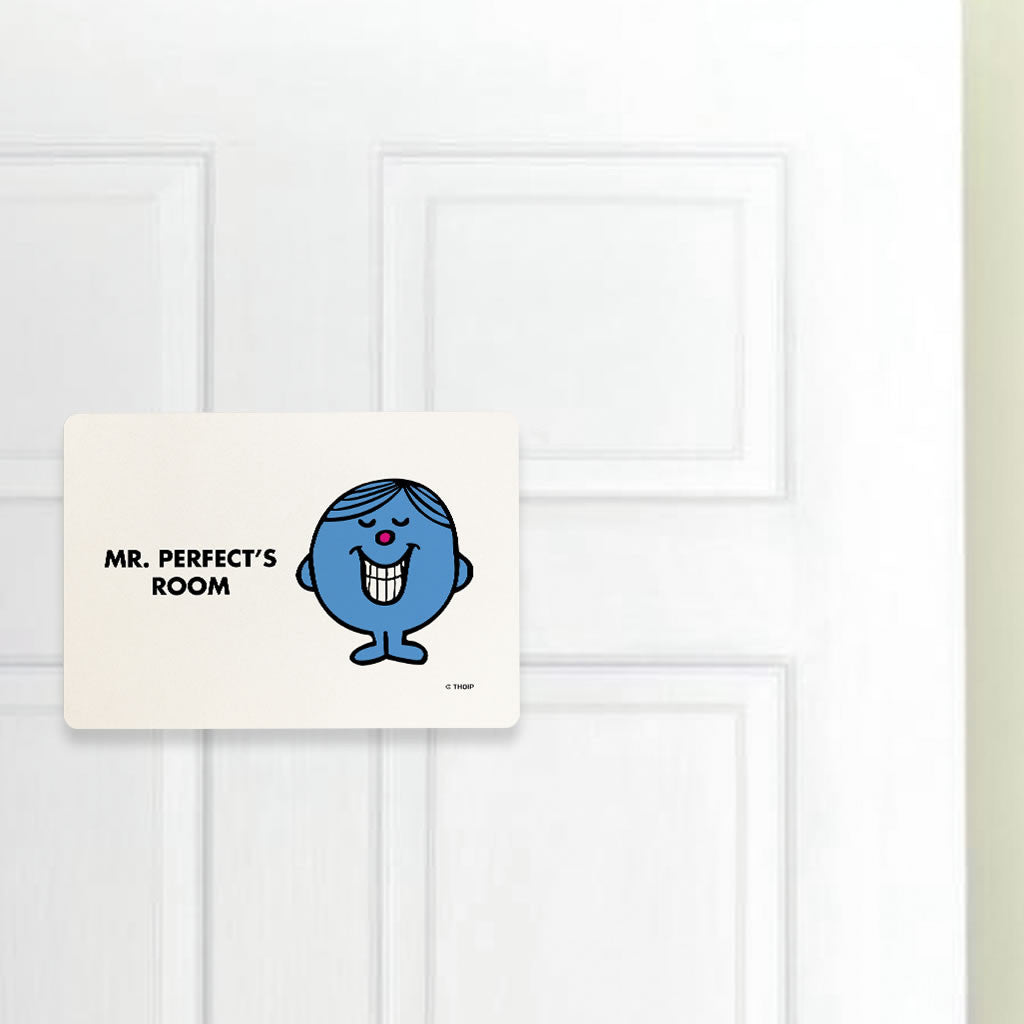 Mr. Perfect Door Plaque (Lifestyle)