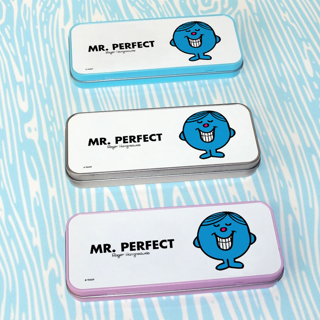 Mr. Perfect Pencil Case Tin (Lifestyle)
