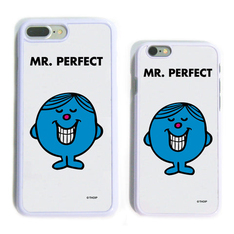 Mr. Perfect White Phone Case