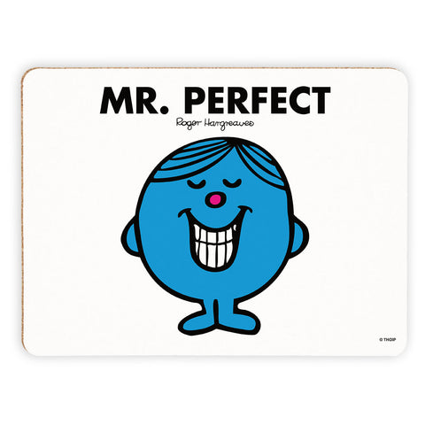 Mr. Perfect Cork Placemat