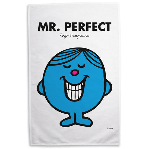 Mr. Perfect Tea Towel