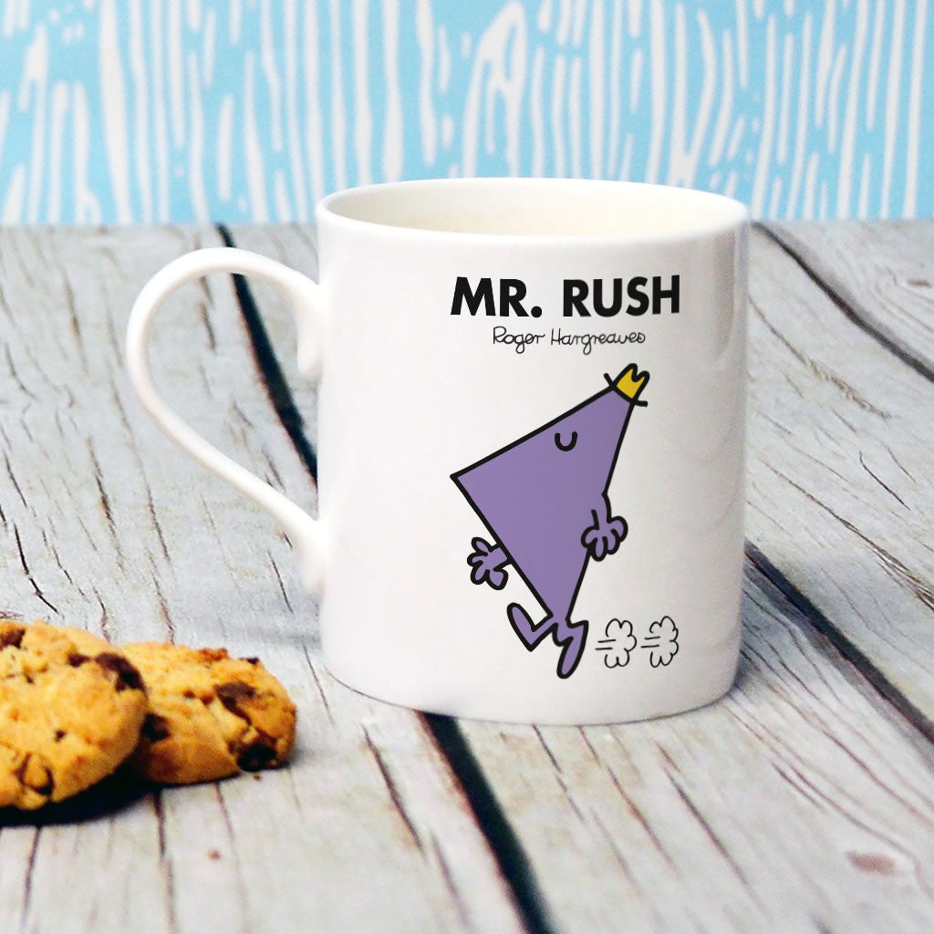 Mr. Rush Bone China Mug (Lifestyle)