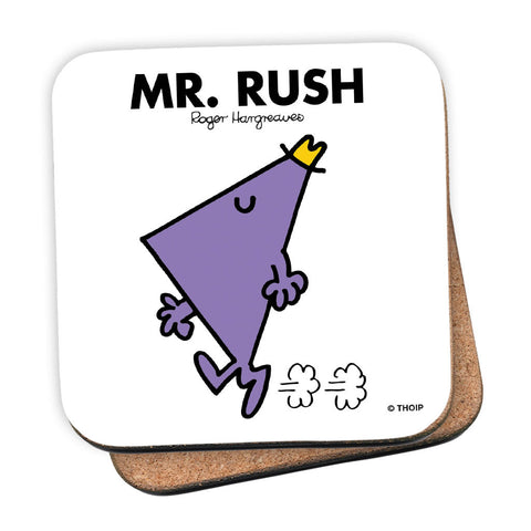 Mr. Rush Cork Coaster