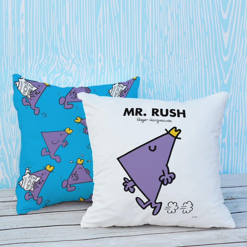 Mr. Rush Micro Fibre Cushion (Lifestyle)