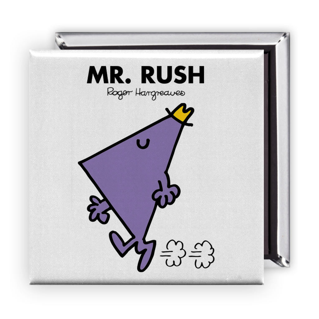 Mr. Rush Square Magnet