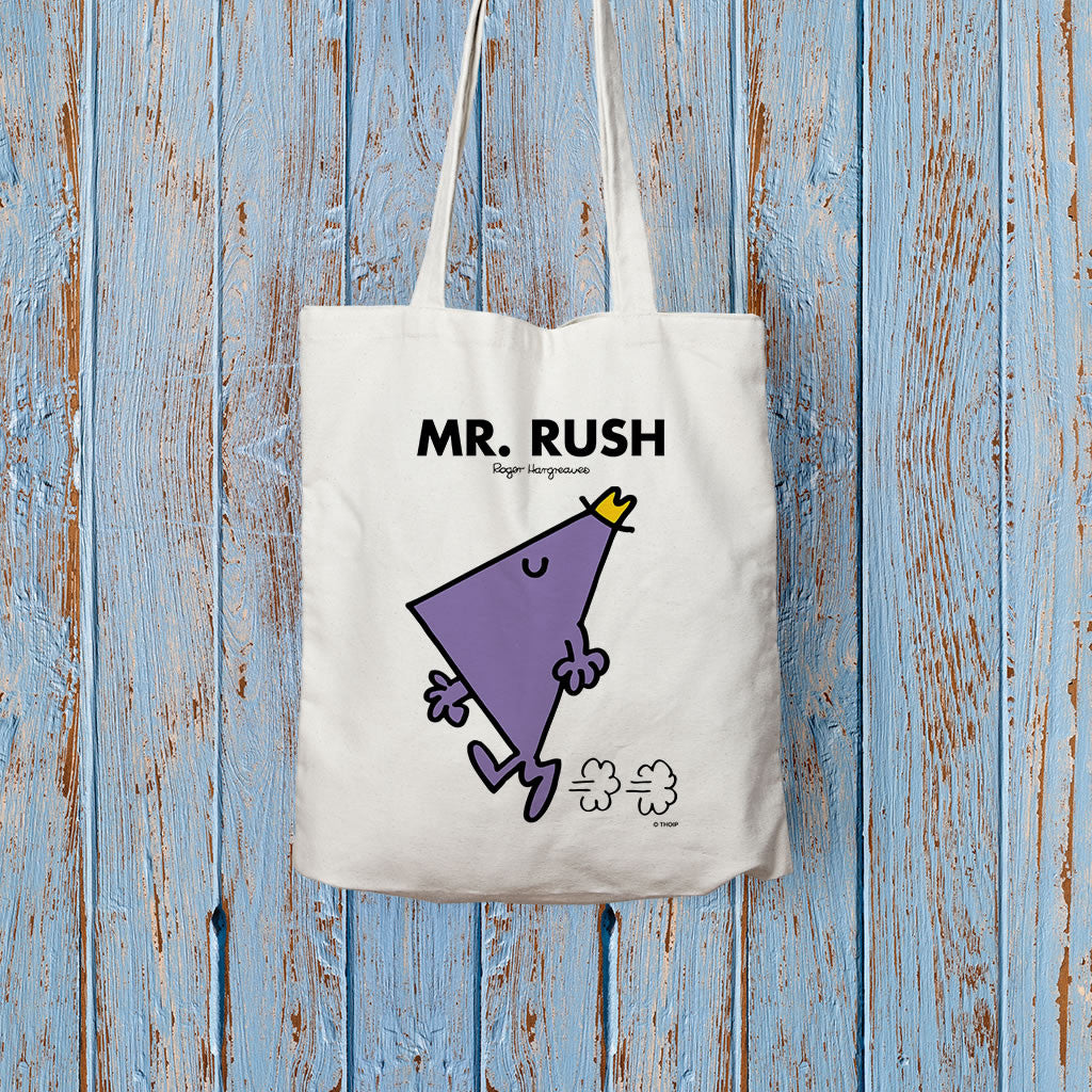 Mr. Rush Long Handled Tote Bag (Lifestyle)