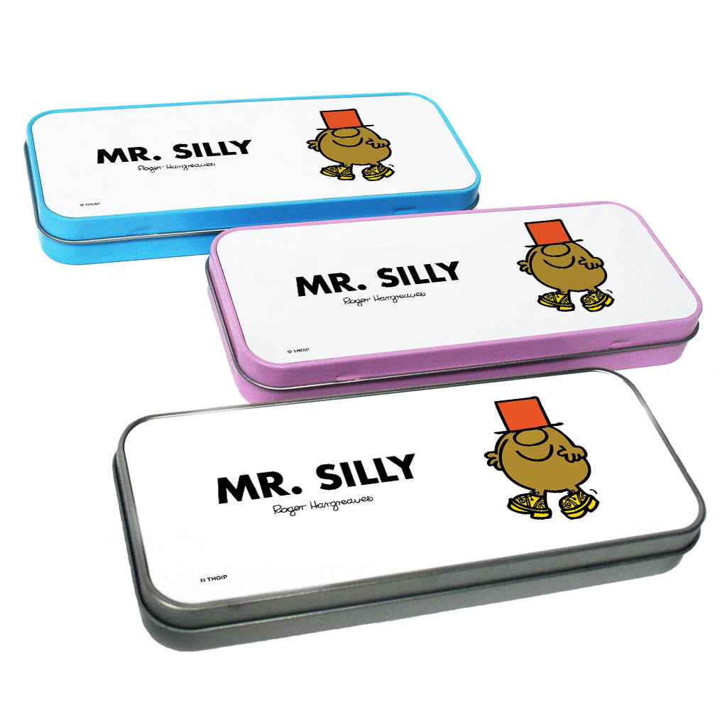 Mr. Silly Pencil Case Tin