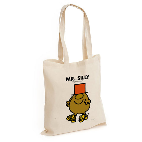 Mr. Silly Long Handled Tote Bag
