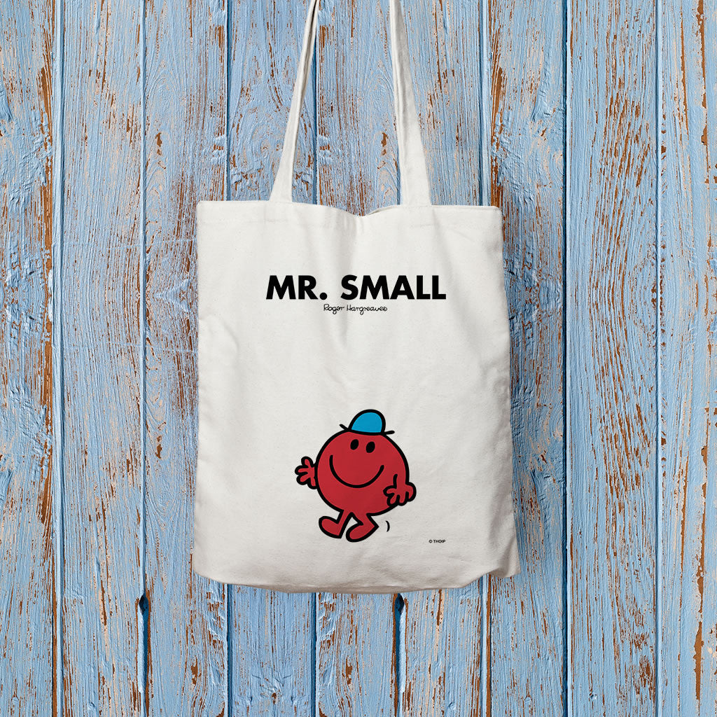 Mr. Small Long Handled Tote Bag (Lifestyle)