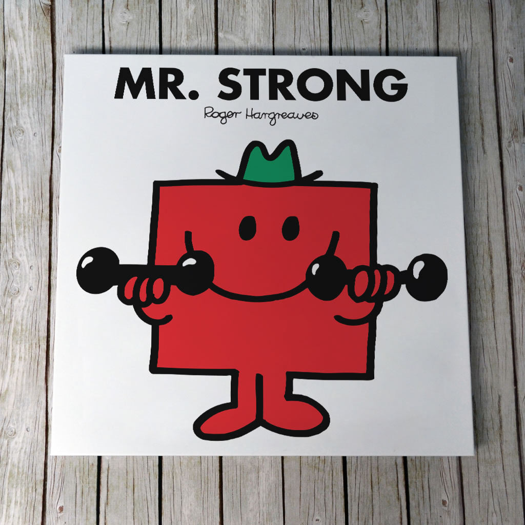 Mr. Strong Canvas (Lifestyle)