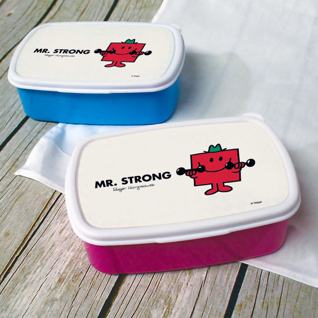 Mr. Strong Lunchbox (Lifestyle)