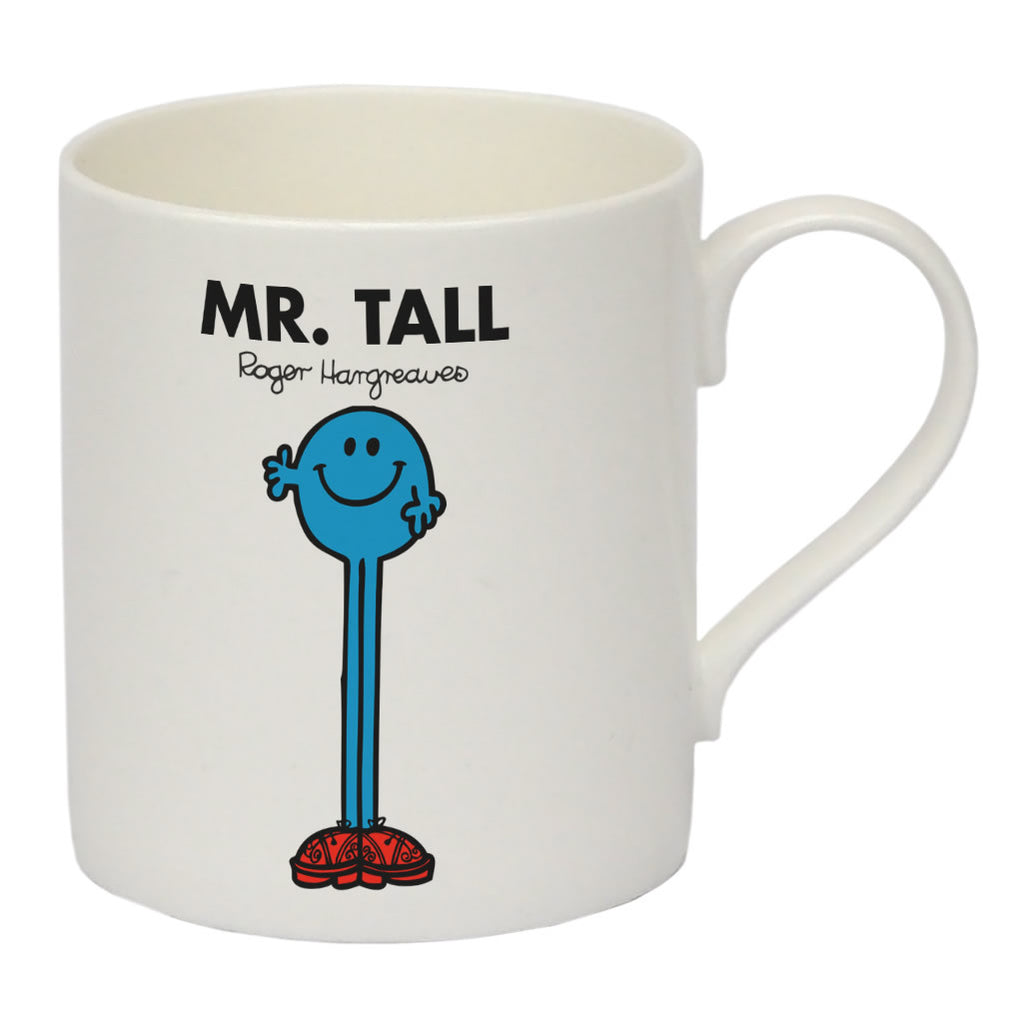 Mr. Tall Bone China Mug