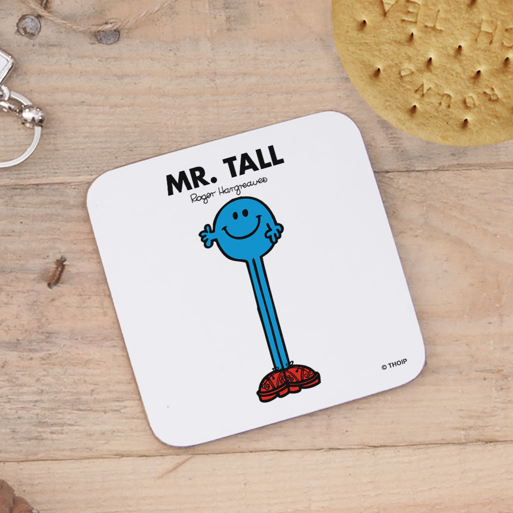 Mr. Tall Cork Coaster (Lifestyle)