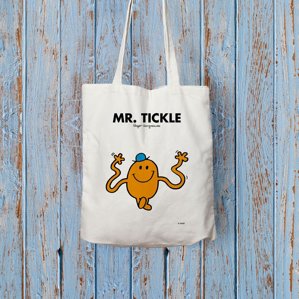 Mr. Tickle Long Handled Tote Bag (Lifestyle)