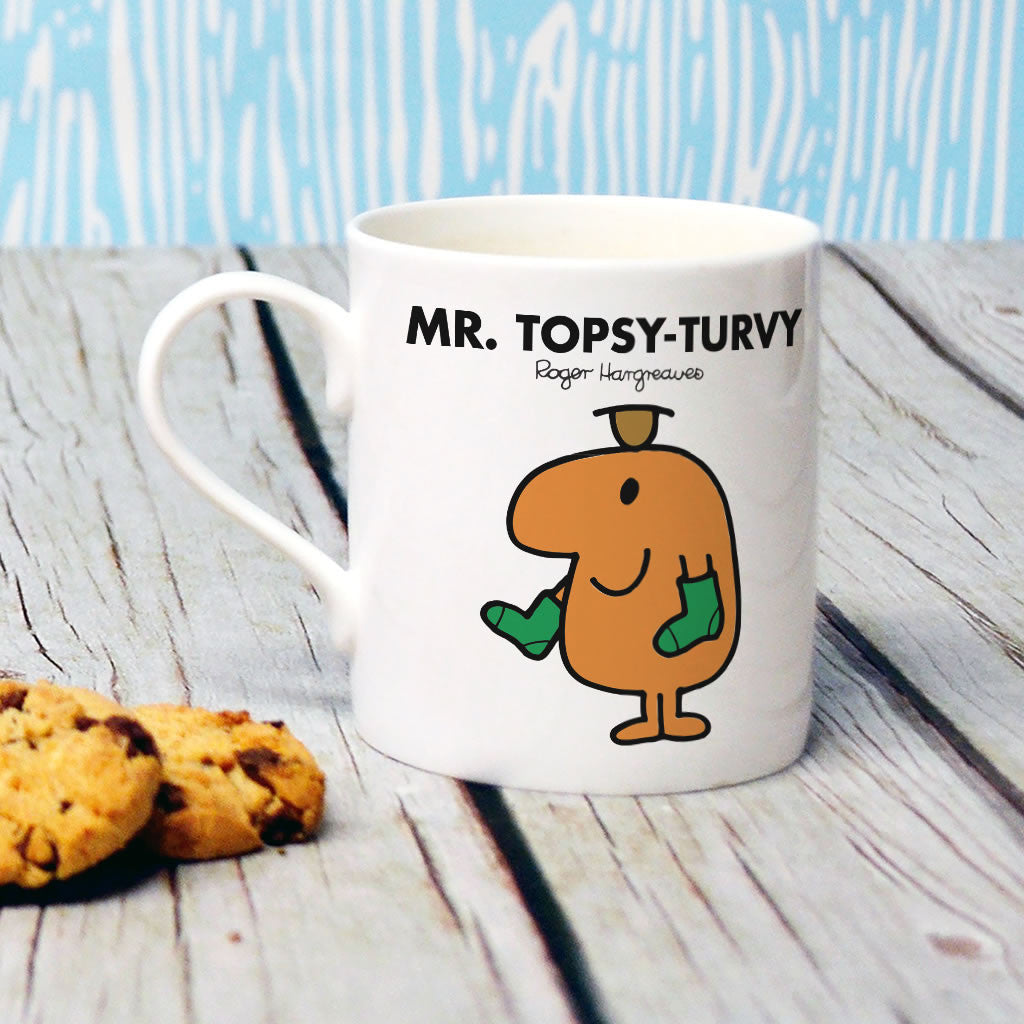 Mr. Topsy-turvy Bone China Mug (Lifestyle)