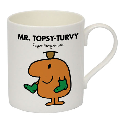 Mr. Topsy-turvy Bone China Mug