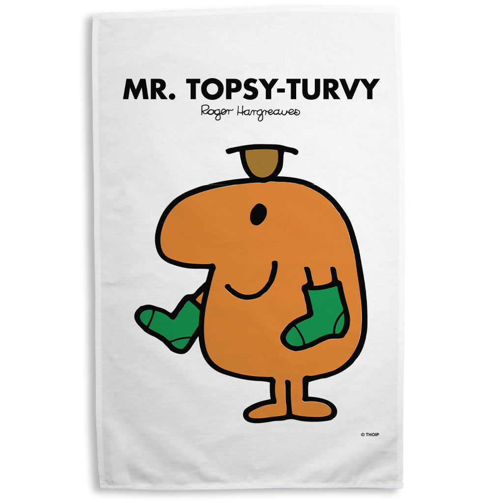 Mr. Topsy-turvy Tea Towel