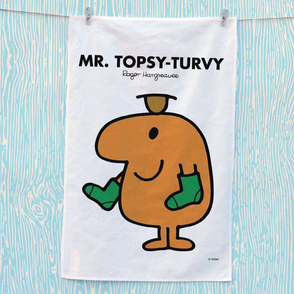 Mr. Topsy-turvy Tea Towel (Lifestyle)