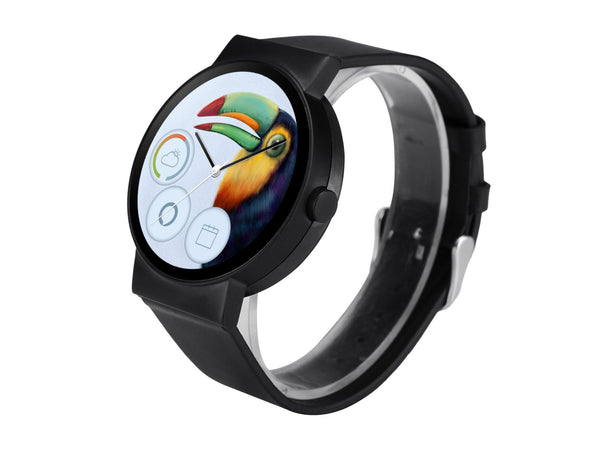 CoWatch in Carbon Black - iMCO CoWatch Alexa Smart Watch on Cronologics
