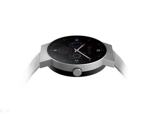 CoWatch in Mineral Silver - iMCO CoWatch Alexa Smart Watch on Cronologics