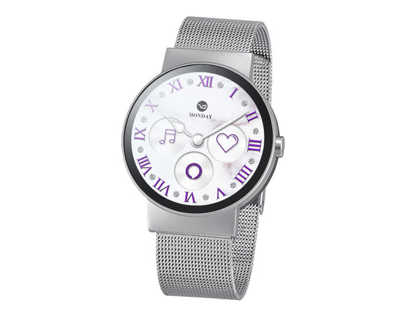 iMCO Watch in Mineral Silver