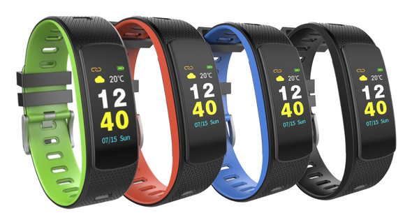 i6 HRC: Stylish Fitness Tracker with Color Screen