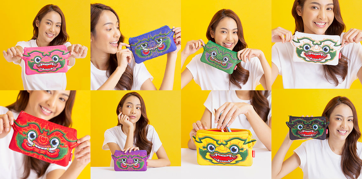 Ramakien Pencil Bag