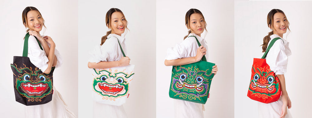 Ramakien Tote Bag Collection