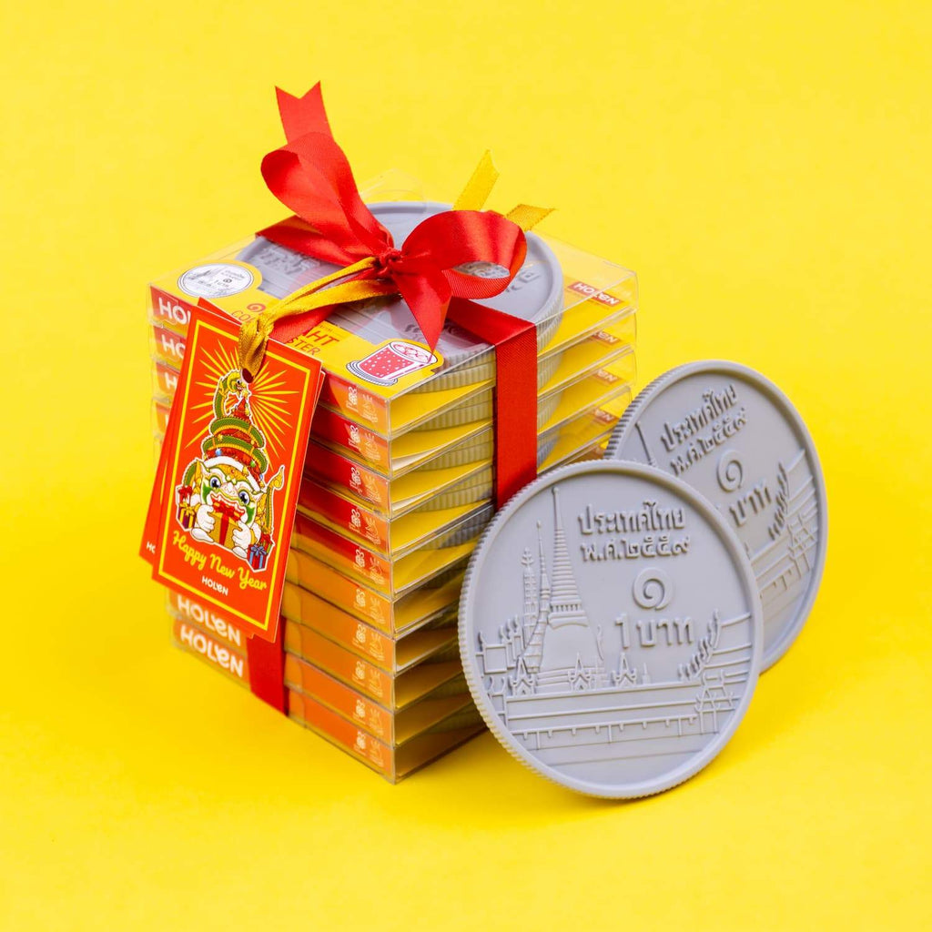 Gift Set ONE-BAHT Coin Coaster