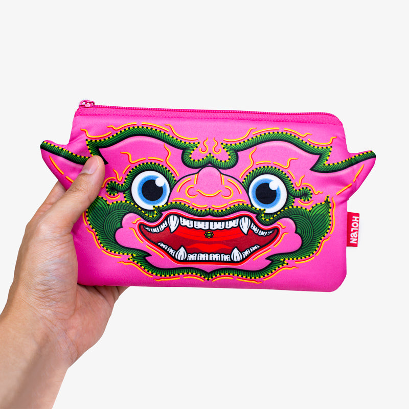 Ramakien Pencil Bag - Chompooparn with Hand