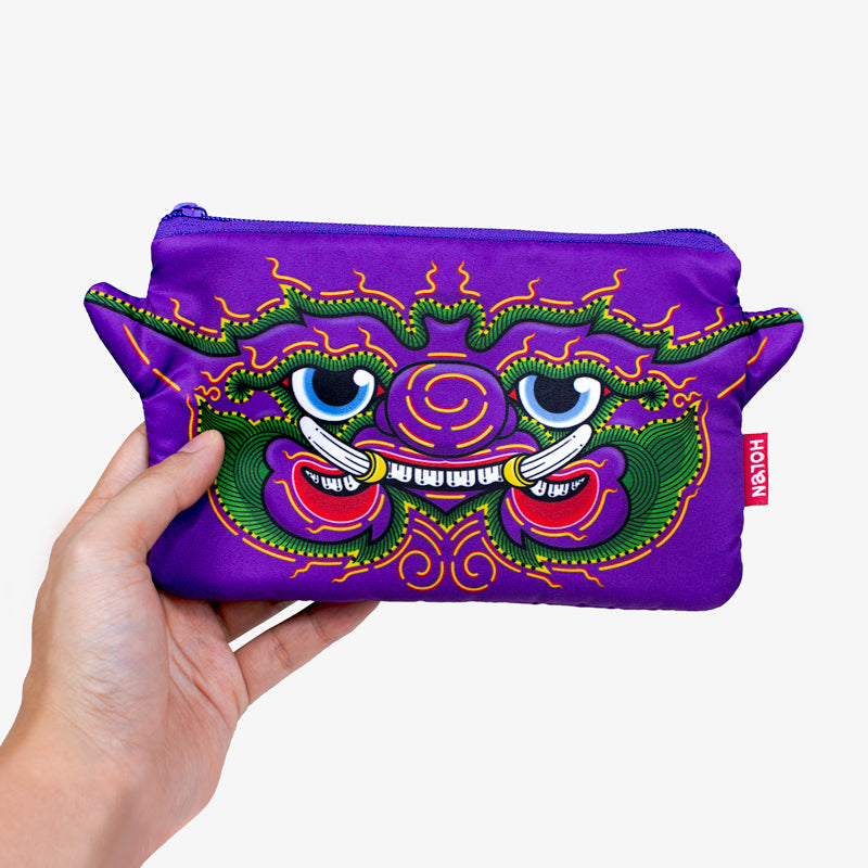 Ramakien Pencil Bag - Maiyararp with Hand