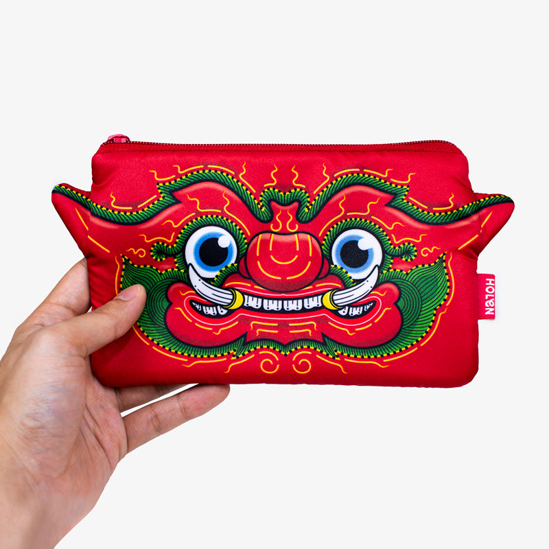 Ramakien Pencil Bag - Tapanasoon with Hand