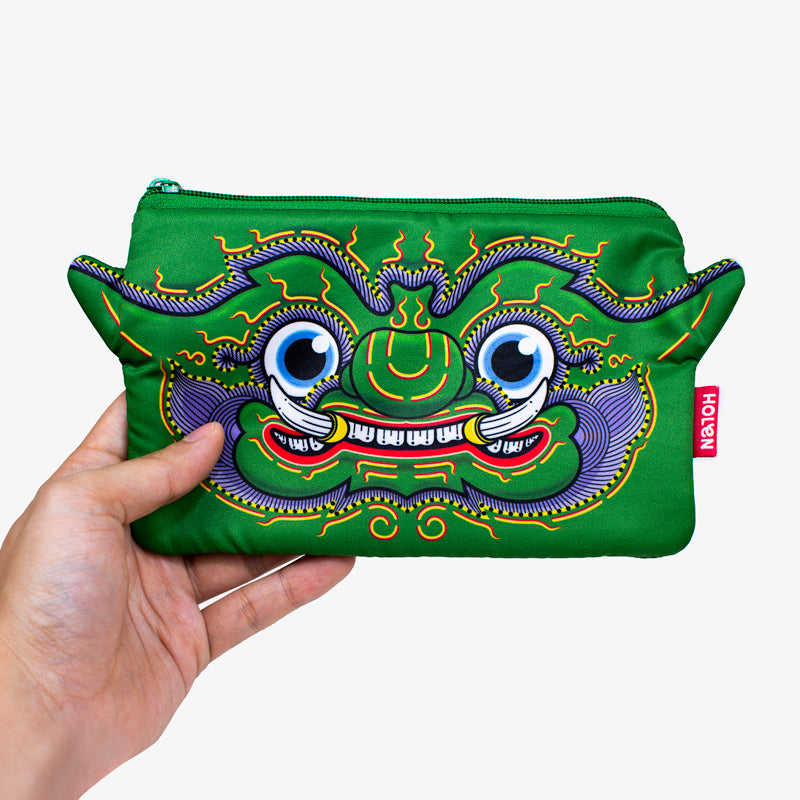 Ramakien Pencil Bag - Thotsakan with Hand