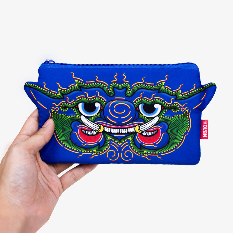 Ramakien Pencil Bag - Wiroonhok  with Hand
