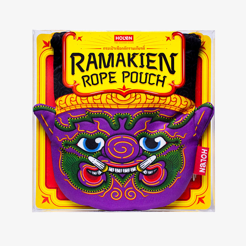 Ramakien Rope Pouch - Ithikai Package
