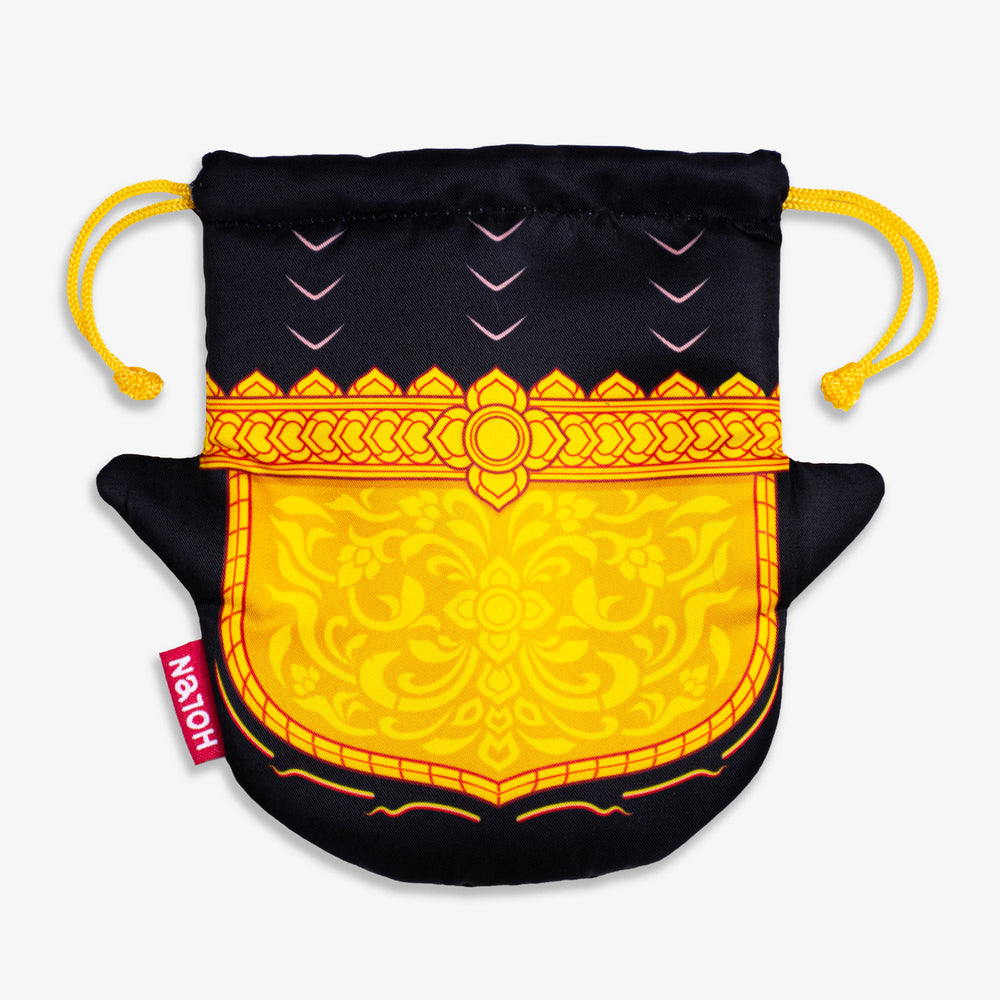 Ramakien Rope Pouch - Nilapat Back