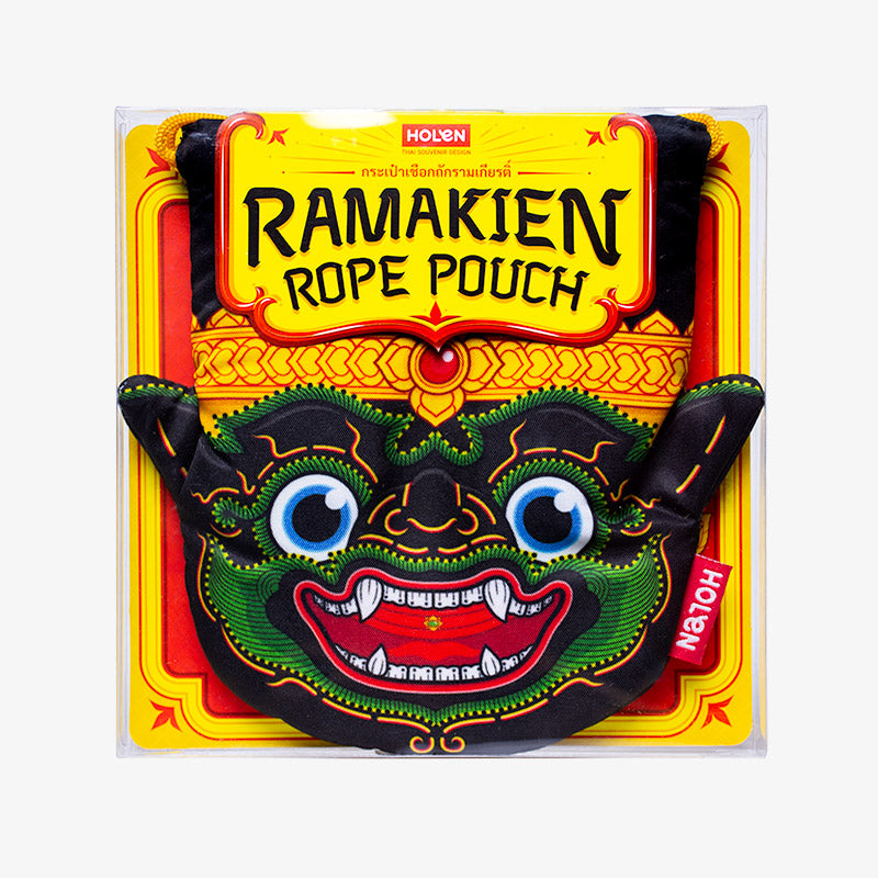 Ramakien Rope Pouch - Nilapat Package