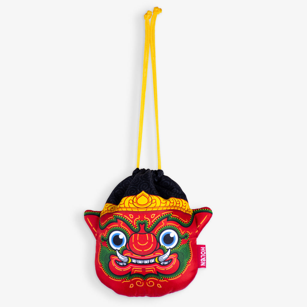Ramakien Rope Pouch - Rithikasoon Hang