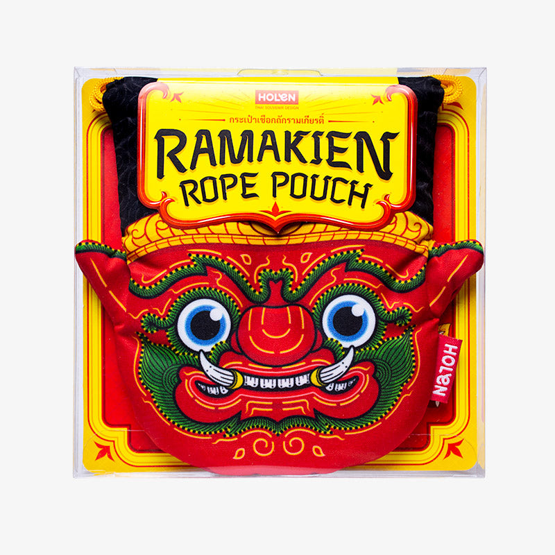 Ramakien Rope Pouch - Rithikasoon Package