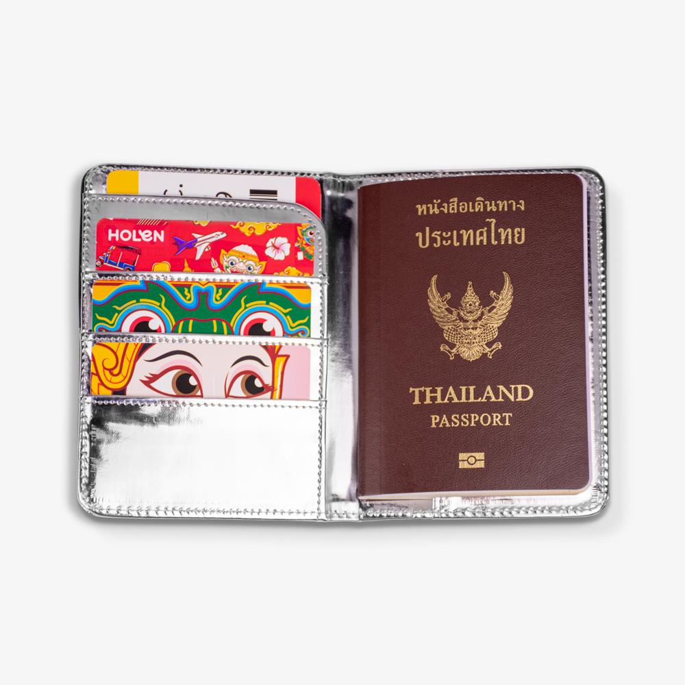 Tuk Tuk Passport Cover Blue Full Function