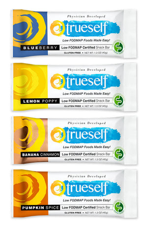 TrueSelf Low FODMAP Snack Bar Variety Pack