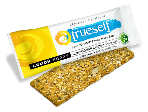 Low FODMAP Certified Lemon Poppy Snack Bars