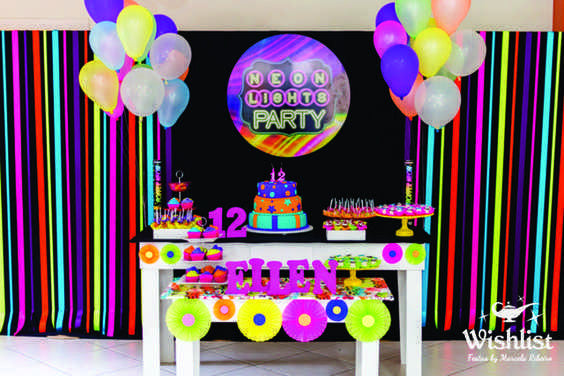 How To Host A Glow In A Dark Party Without Losing Your Mind!